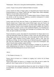 Thesenpapier von Sandro Räss