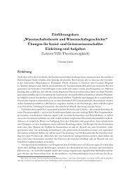 Einführungskurs - Wissenschaftstheorie und -geschichte