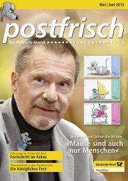 Mai | Juni 2013 - Deutsche Post - Philatelie