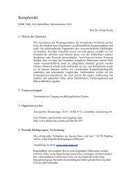 Syllabus HS11_UK Kopie - Universität Bern