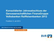 Kennzahlen - Bundesverband der Deutschen Volksbanken und ...