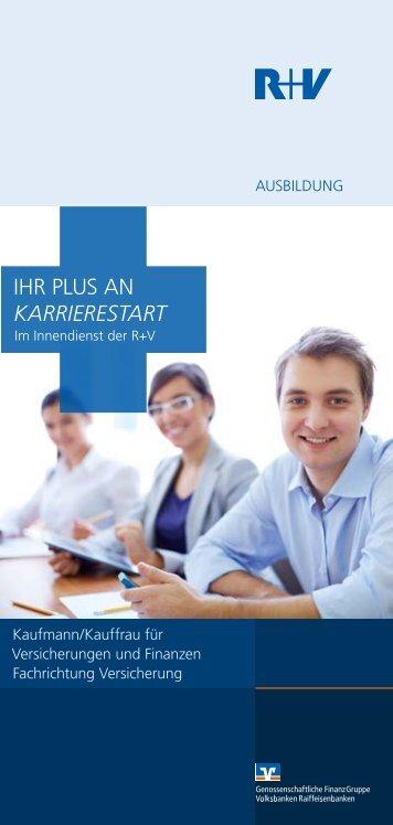 IHR PlUS An KARRIERESTART - R+V Versicherung
