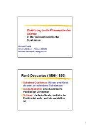 Vorlesungfolien (pdf) - Universität Bern