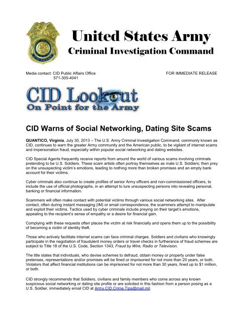 report dating site scams