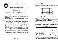 Aufgabenbl atter zur Klausur ,,Technische Informatik I/II\