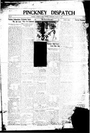 01-21-1931 - Village of Pinckney