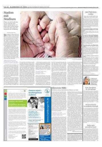 Karriere in der Gesundheitsbranche - Süddeutsche.de ...