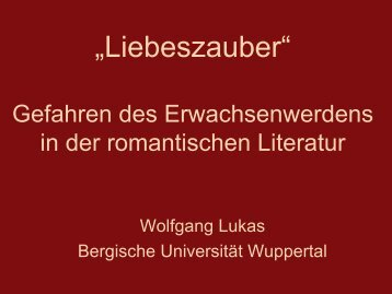 Download - Bergische Universität Wuppertal