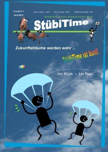 Ausgabe 3, Juni 2013 - Bildungszentrum Stübenhofer Weg