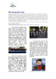 IDC Graduation Day