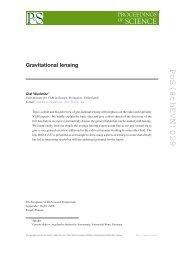 PoS(8thEVN)029 - Proceedings of Science - SISSA