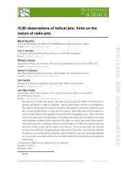 PoS(11th EVN Symposium)061 - SISSA