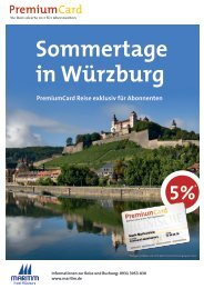 Sommertage in Würzburg - RP-PremiumCard
