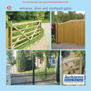 entrance, drive and courtyard gates - BD Online Product Search