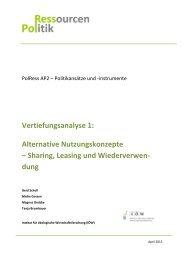 PoLRess ZB AP2-Vertiefungsanalyse alternative Nutz..., Seiten 1-35