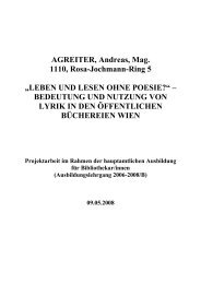 "AGREITER, Andreas, Mag. 1110, Rosa-Jochmann-Ring 5 ""LEBEN ..."