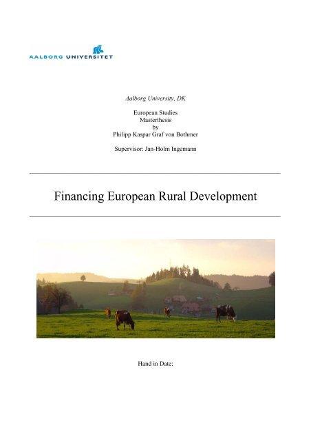 Masterthesis European Studies Bothmer