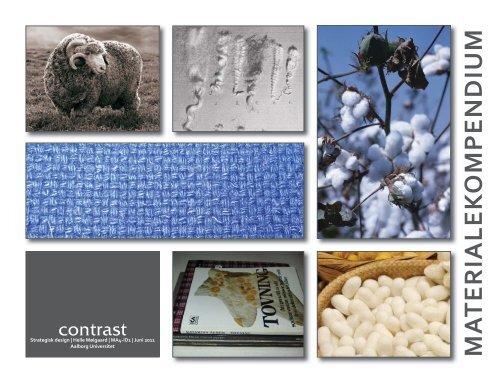 contrast - Strategisk design - Materialekompendium - Aalborg ...