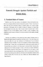 Yemenis Struggle Aguinst Turkish and British Rule.