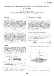 Entwicklung einer Halbraum-BEM zur Simulation der ...