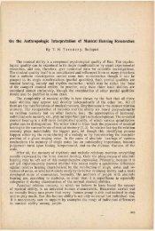 A Magyar Természettudományi Múzeum évkönyve 4. (Budapest 1952)