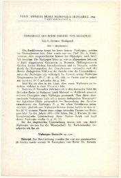 A Magyar Természettudományi Múzeum évkönyve 34. (Budapest ...