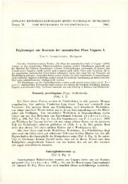 Budapest 1961 - Magyar Természettudományi Múzeum
