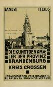 Die Kunstdenkmäler der Provinz Brandenburg. Hrsg. vom ... - Seite 5