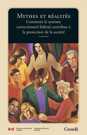 MthEs Et RAlIts - Publications du gouvernement du Canada