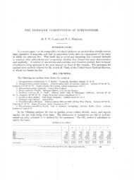 THE INORGANIC CONSTITUENTS OF ECHINODERMS.