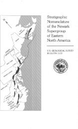 Stratigraphic Nomenclature of the Newark Supergroup ... - the USGS