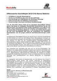 MediaInfo - Banner GmbH