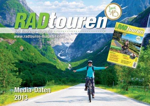 Media-Daten 2013 - Radtouren Magazin