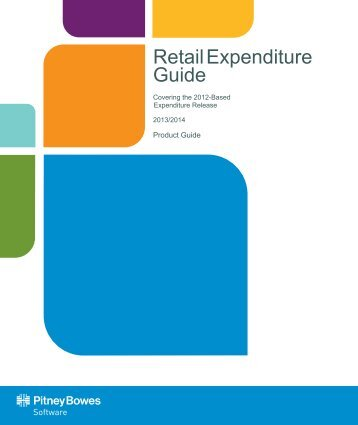 Retail Expenditure Guide 2013/2014 - Product Documentation
