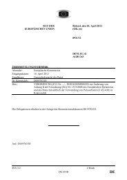 8931/12 CB/mh DG B 4B RAT DER EUROPÄISCHE U IO Brüssel ...