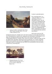 Courbet: Landschaft - realism working group, free class frankfurt/m.