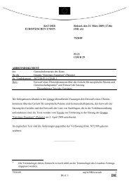 7928/09 - Öffentliches Register der Ratsdokumente - Europa