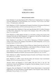 PUBLICATIONS MADELEINE O. HOSLI Refereed Journal Articles ...