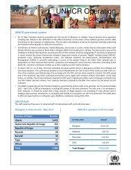 UNHCR Operation