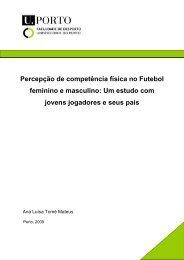 Percepção de competência física no Futebol feminino e masculino ...