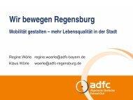 Lebensqualität in der Stadt (Vortrag beim zweiten Aktionstag im EBW