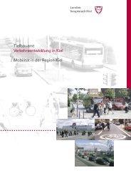 Broschüre Mobilität in der Region Kiel (Ergebnisse 2002)