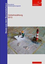 Ergebnisse Verkehrszählung 2013 - Stadt Nürnberg