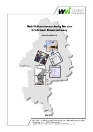Abschlussbericht - Zweckverband Grossraum Braunschweig