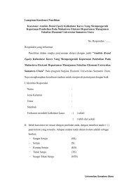 Lampiran Kuesioner Penelitian Kuesioner Analisis Brand Equity ...