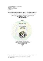 UNIVERSITAS SUMATERA UTARA - USU Institutional Repository ...