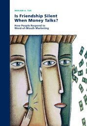 Is Friendship Silent When Money Talks? - RePub - Erasmus