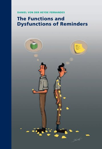 The Functions and Dysfunctions of Reminders - RePub