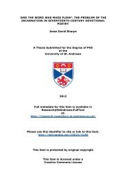 Jesse Sharpe PhD thesis - Research@StAndrews:FullText ...