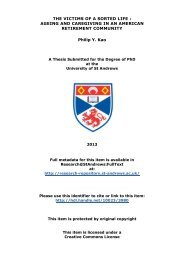 Philip Y. Kao PhD thesis - Research@StAndrews:FullText